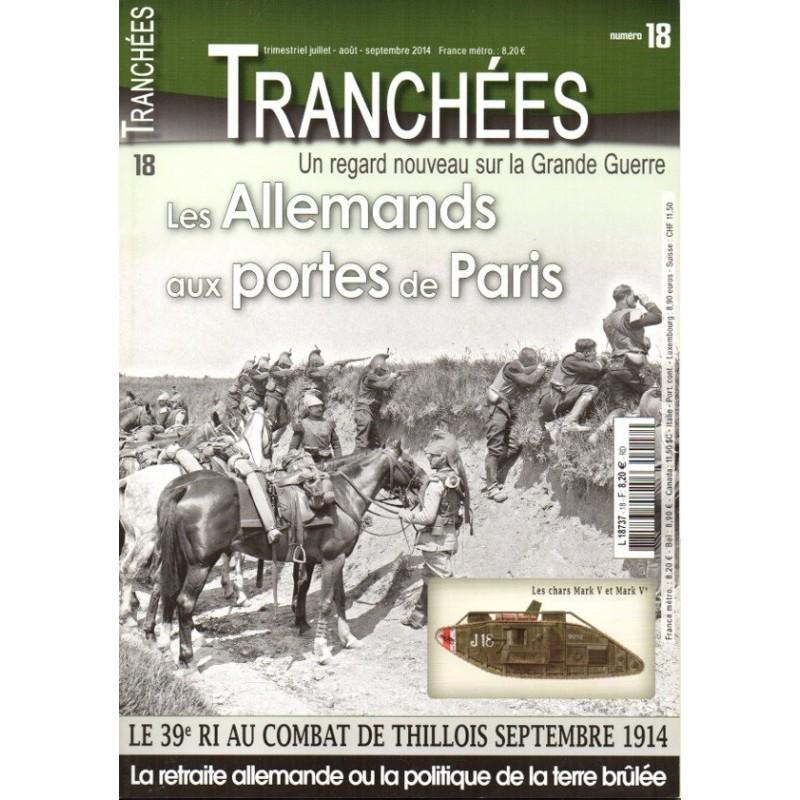 Tranchées n° 18 - Les Allemands aux portes de Paris