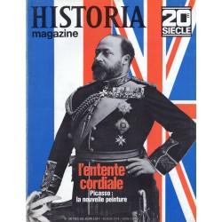 Historia Magazine 20e siècle n° 106 - L'entente cordiale