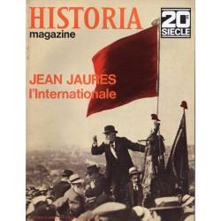 Historia Magazine 20e siècle n° 104 - Jean Jaurès - L'Internationale
