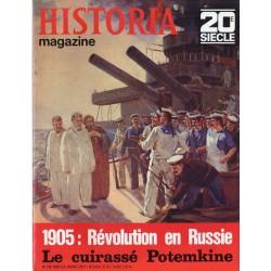 Historia Magazine 20e siècle n° 100 - 1905 : la révolution en Russie & Le cuirassé Potemkine