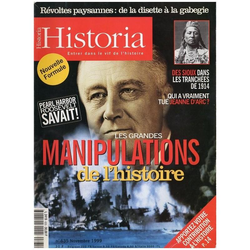 Historia n° 635 - Les grandes manipulations de l'histoire