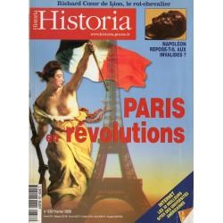 Historia n° 638 - Paris en révolutions
