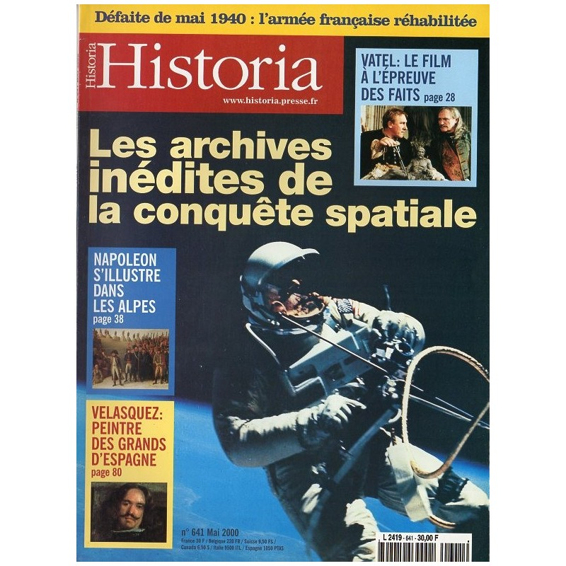 Historia n° 641 - Les archives inédites de la conquête spatiale