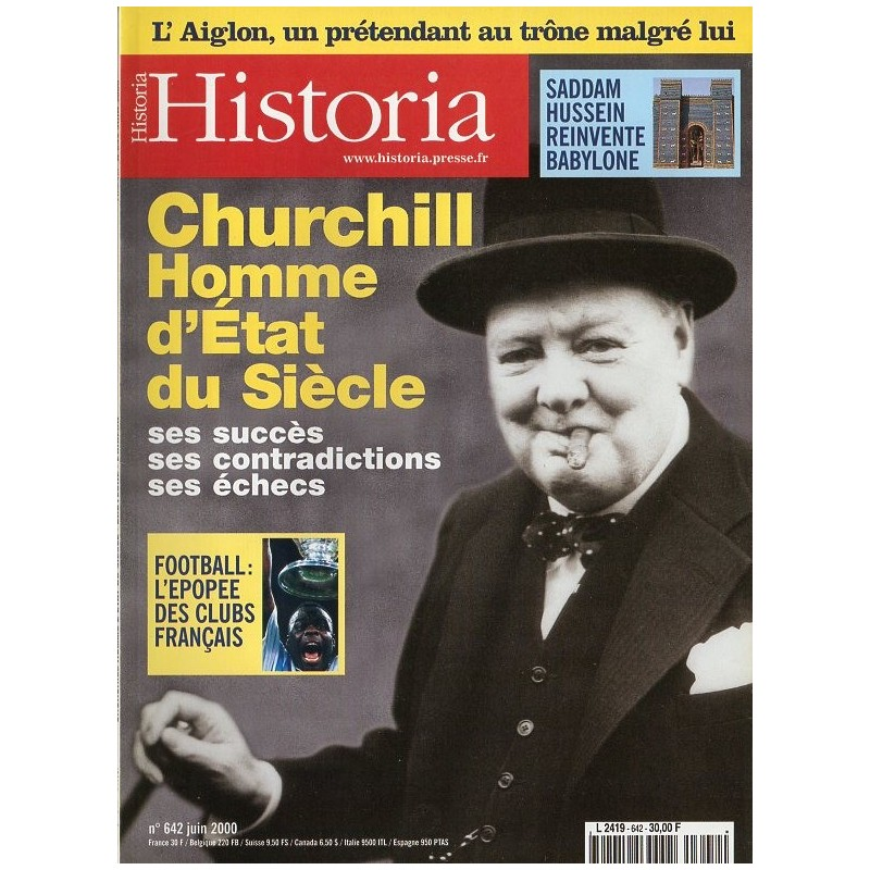 Historia n° 642 - Churchill Homme d'État du siècle