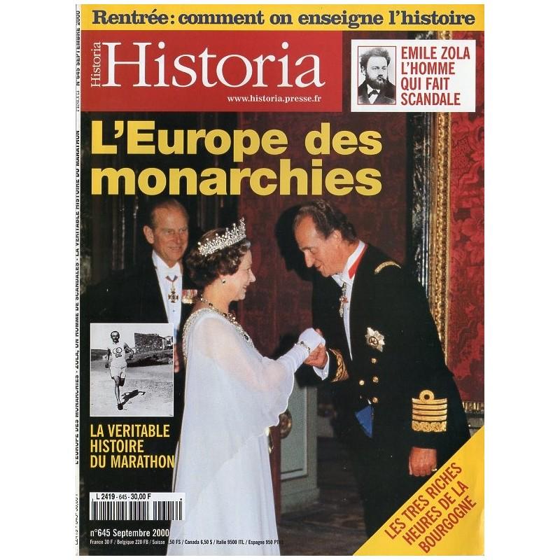 Historia n° 645 - L'Europe des monarchies
