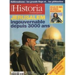 Historia n° 646 - Jérusalem ingouvernable depuis 3000 ans