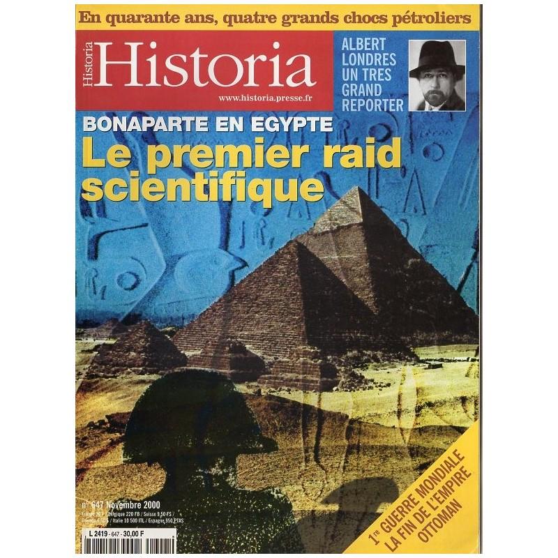 Historia n° 647 - Bonaparte en Egypte : le premier raid scientifique