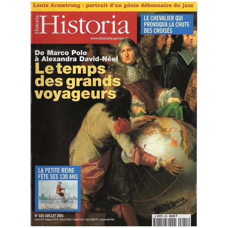 Historia n° 655 - Le temps des grands voyageurs, de Marco Polo à Alexandra David-Néel