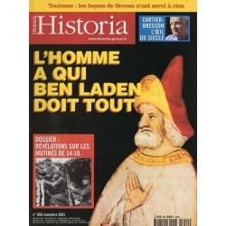 Historia n° 659 - L'homme à qui Ben Laden doit tout