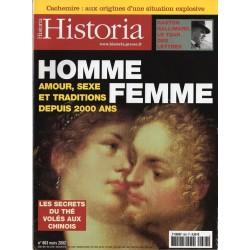 Historia n° 663 - HOMME FEMME, amour sexe et traditions depuis 2000 ans
