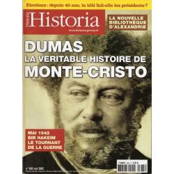 Historia n° 665 - Dumas, la véritable histoire de Monte-Cristo