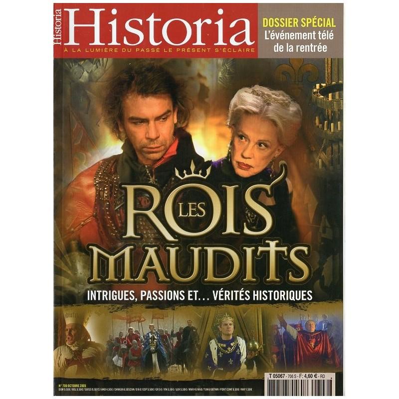 Historia n° 706 S - Les Rois Maudits, intrigues, passions et vérités historiques