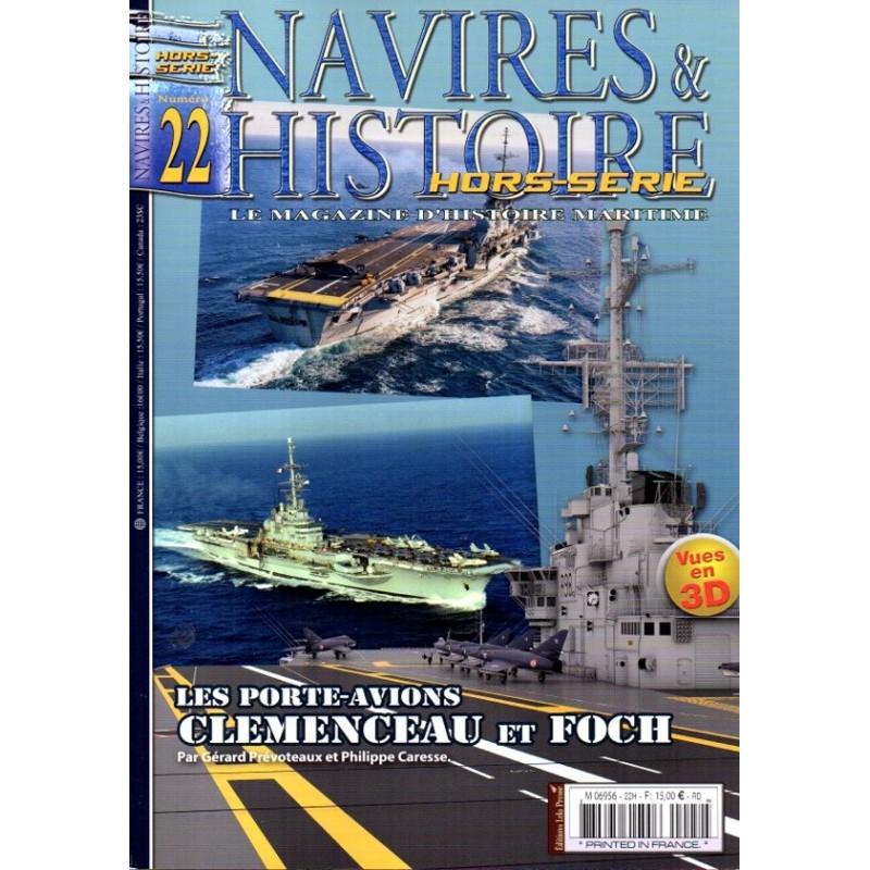 Navires & Histoire n° 22H - Les Porte-avions CLEMENCEAU et FOCH