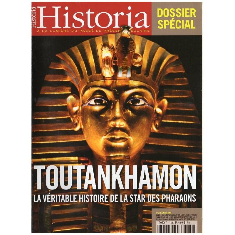 Historia n° 710 S - Toutankhamon, la véritable histoire de la star des pharaons