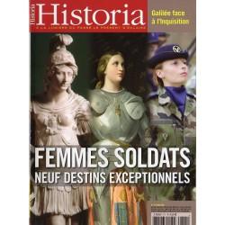 Historia n° 711 - Femmes soldats, neuf destins exceptionnels