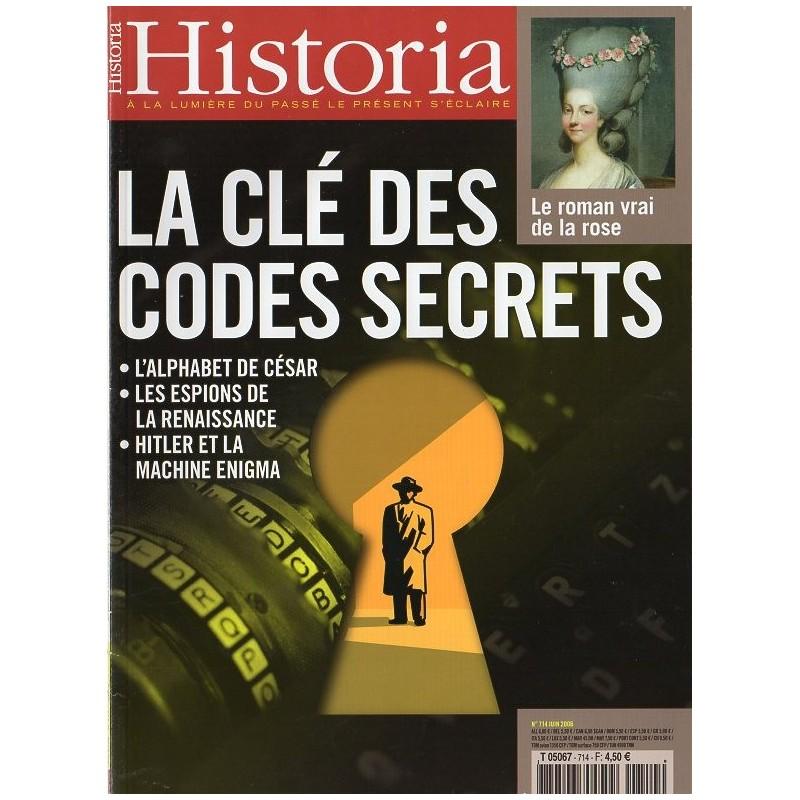 Historia n° 714 - La clé des codes secrets