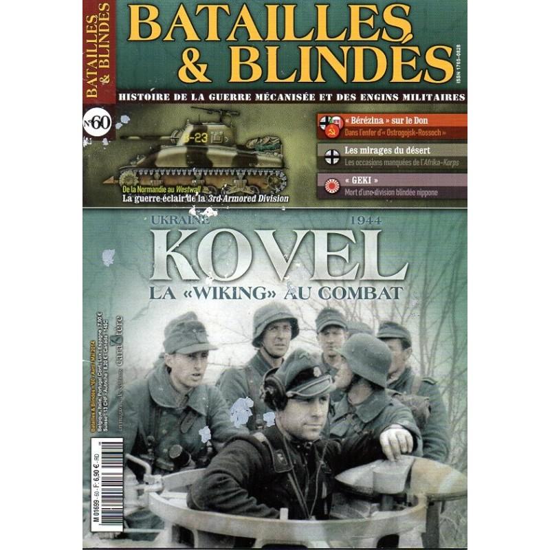 """Batailles & Blindés n° 60 - Kovel, la """"Wiking"""" au combat"""
