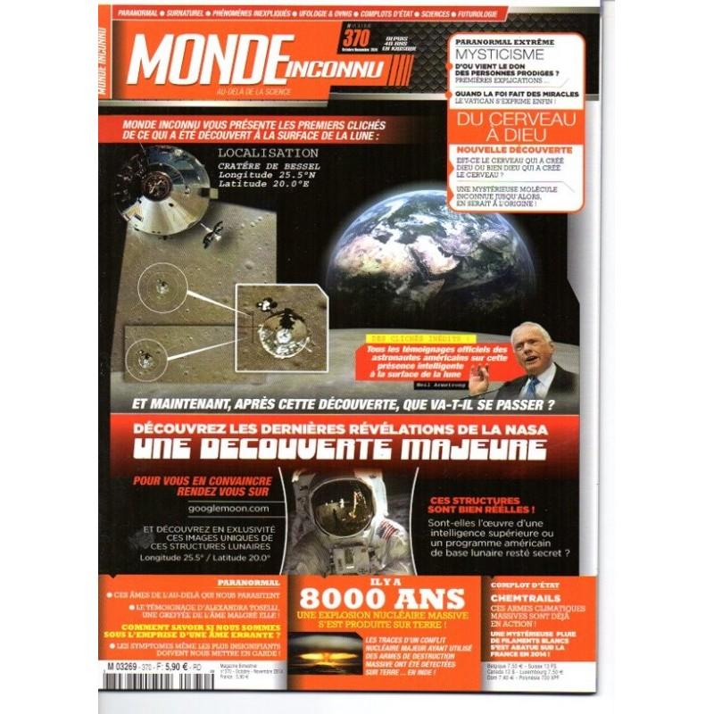 Monde Inconnu n° 370 - Les dernières révélations de la NASA, une découverte majeure