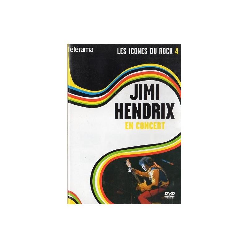 Jimi Hendrix en Concert (Les Icônes du rock) - DVD zone 2