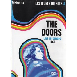 The Doors en Concert - Live in Europe 1968 (Les Icônes du rock) - DVD zone 2