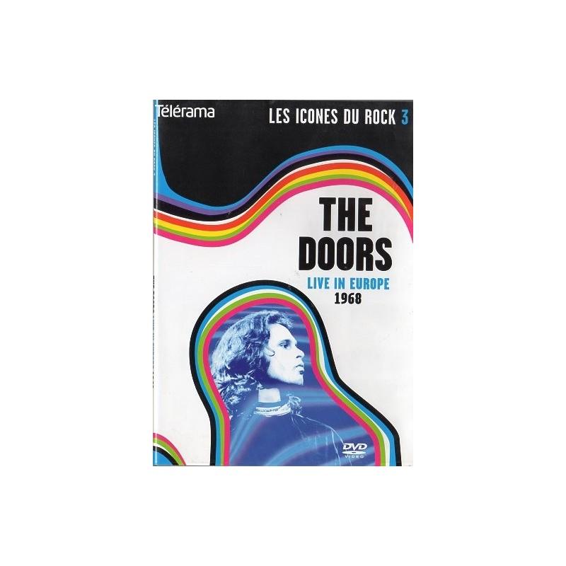 The Doors en Concert - Live in Europe 1968 (Les Icônes du rock) - DVD zone 2