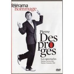 Pierre Desproges - Les Spectacles (Théâtre Grévin 1984 - Théâtre Fontaine 1986) - DVD zone 2