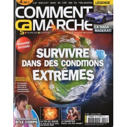 Comment ça marche n° 55 - Survivre dans des conditions extrêmes