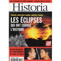 Historia n° 632 - Les éclipses qui ont changé l'histoire : Périclès, Christophe Colomb, Lawrence d'Arabie...