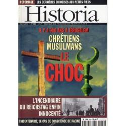 Historia n° 630 - Il y a 900 ans à Jérusalem, Chrétiens - Musulmans : Le Choc