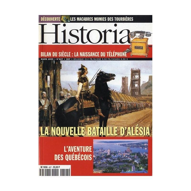 Historia n° 627 - La nouvelle bataille d'Alésia - Bilan du siècle : la naissance du téléphone