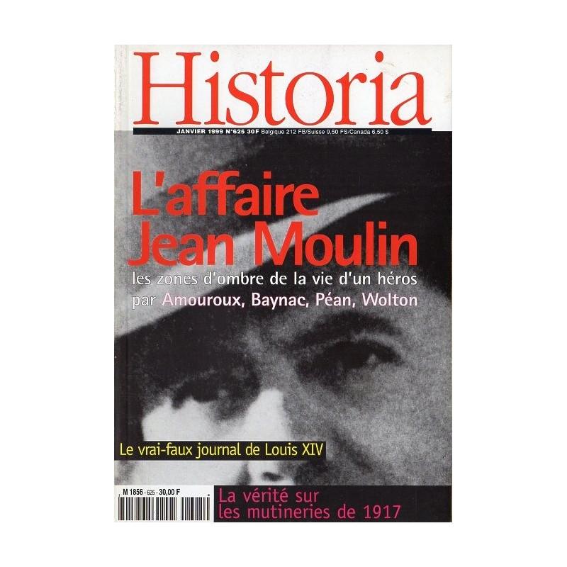Historia n° 625 - L'affaire Jean Moulin - les zones d'ombres de la vie d'un héros