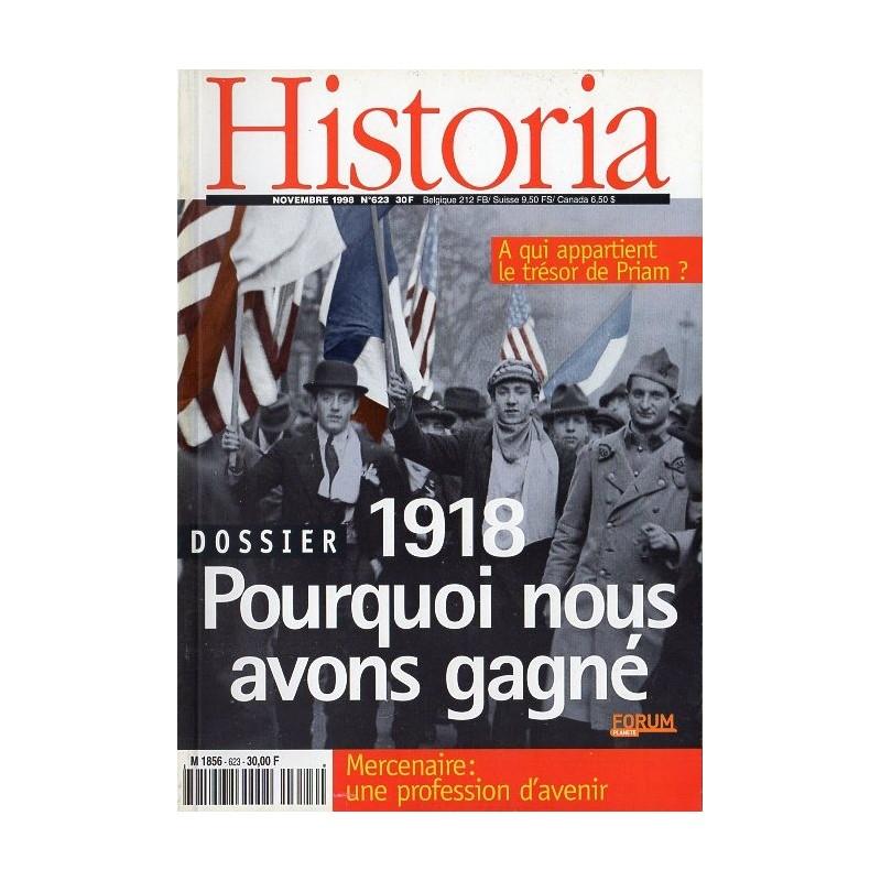 Historia n° 623 - Dossier 1918 : pourquoi nous avons gagné