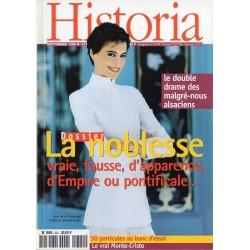 Historia n° 621 - La noblesse, vraie, fausse, d'apparence, d'Empire ou pontificale...