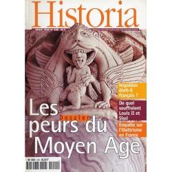 Historia n° 620 - Les peurs du Moyen Age