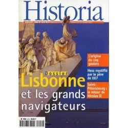 Historia n° 619 - Lisbonne et les grands navigateurs
