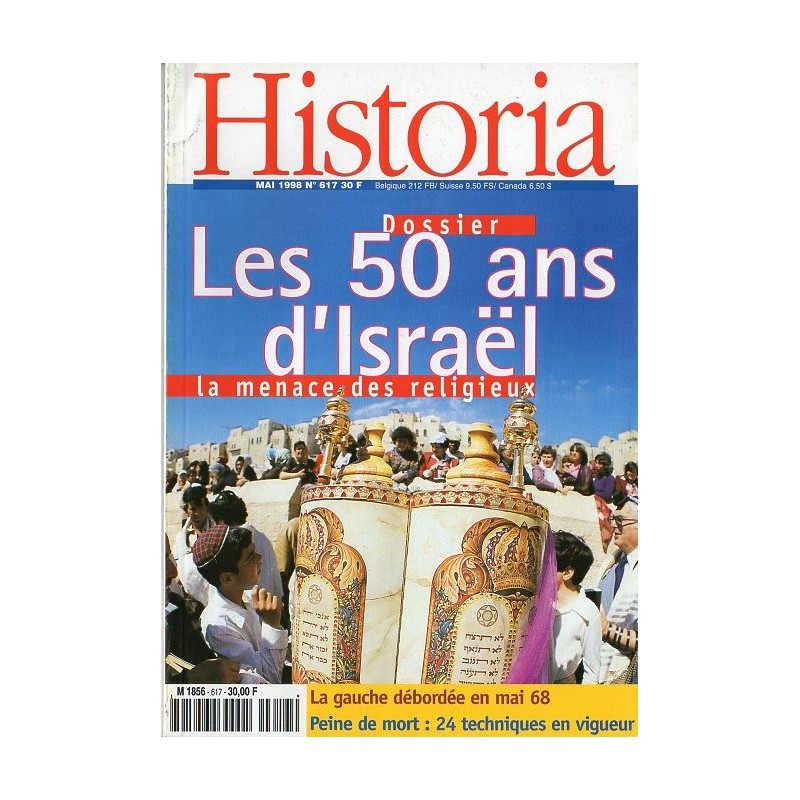 Historia n° 617 - Les 50 ans d'Israël, la menace des religieux