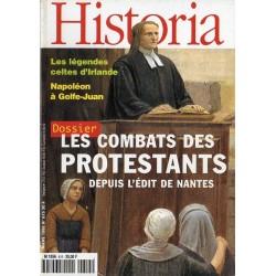Historia n° 615 - Les Combats des Protestants, depuis l'Édit de Nantes