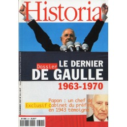 Historia n° 611 - Le dernier De Gaulle (1963-1970)