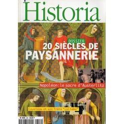 Historia n° 608 - 20 siècles de Paysannerie