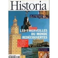 Historia n° 606 - Les 7 merveilles du monde redécouvertes