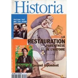 Historia n° 604 - La Restauration, la parenthèse de l'histoire