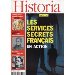 Historia n° 602 - Les services secrets français en action