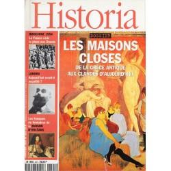 Historia n° 601 - Les Maisons closes, de la Grèce antique aux clandés d'aujourd'hui