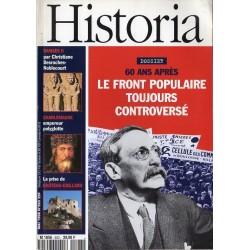 Historia n° 593 - Le Front Populaire toujours controversé