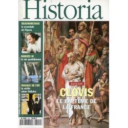 Historia n° 592 - Clovis, le baptême de la France