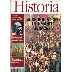 Historia n° 585 - Surpopulation : l'humanité menacée ?