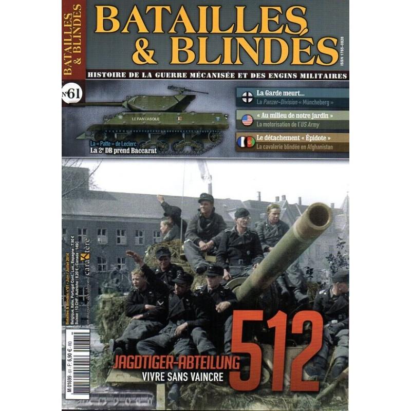 Batailles & Blindés n° 61 - Jagdtiger Abteilung 512