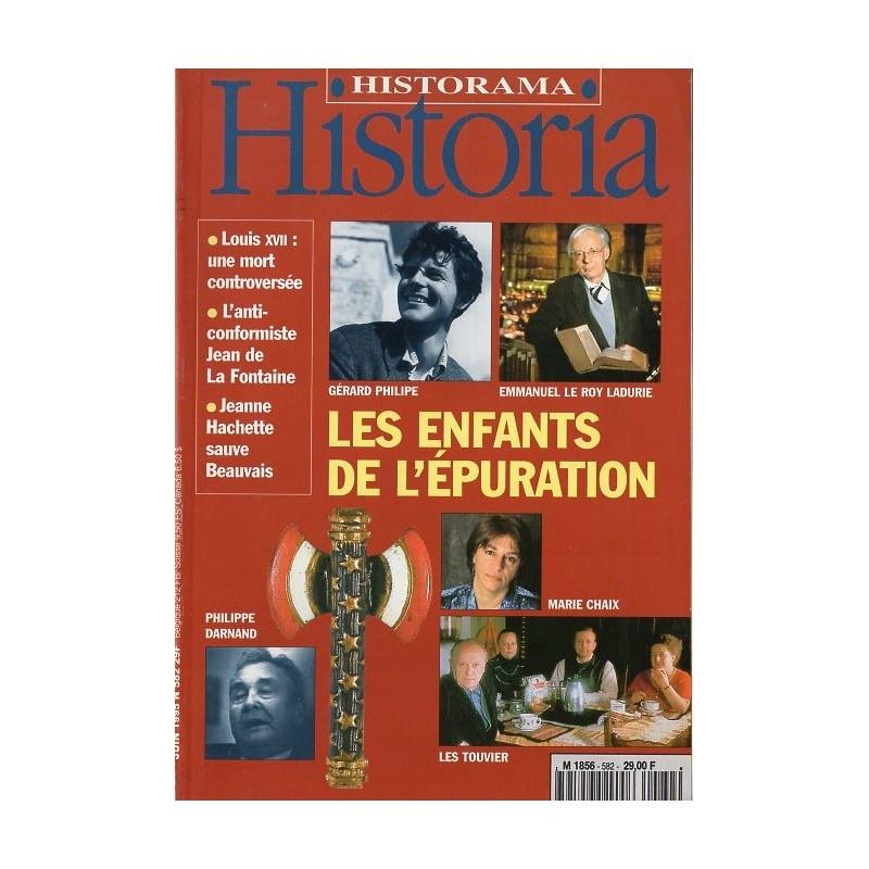 Historia n° 582 - Les Enfants de l'épuration