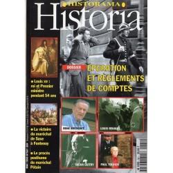 Historia n° 581 - Épuration et règlements de comptes