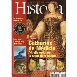 Historia n° 580 - Catherine de Médicis a-t-elle ordonné la Saint-Barthélemy ?